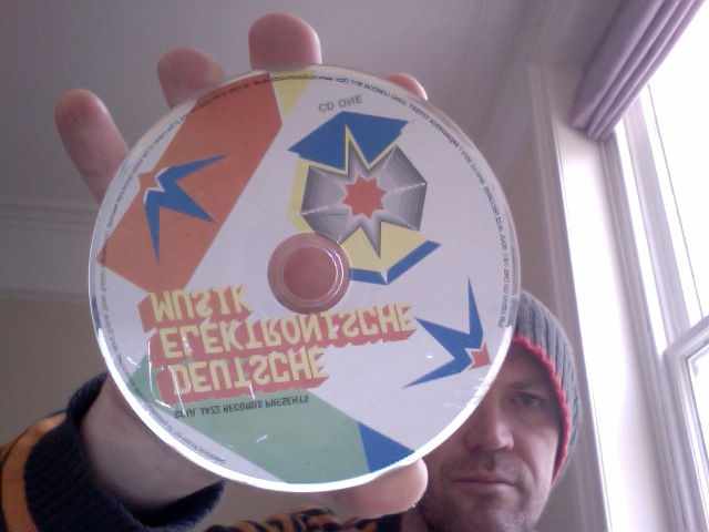 Did YOU keave this German Elektronische Musik CD in my garden? And if so, why? What have I done to you?
